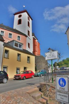 The gate tower of Neuerburg