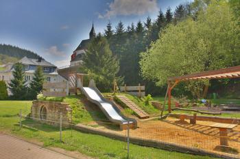 De kinderspeelplaats van Neuerburg